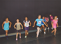 Dance Routine at Union County Dance Centre's Summer Camp