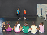 Theater Class at Union County Dance Centre's Summer Camp
